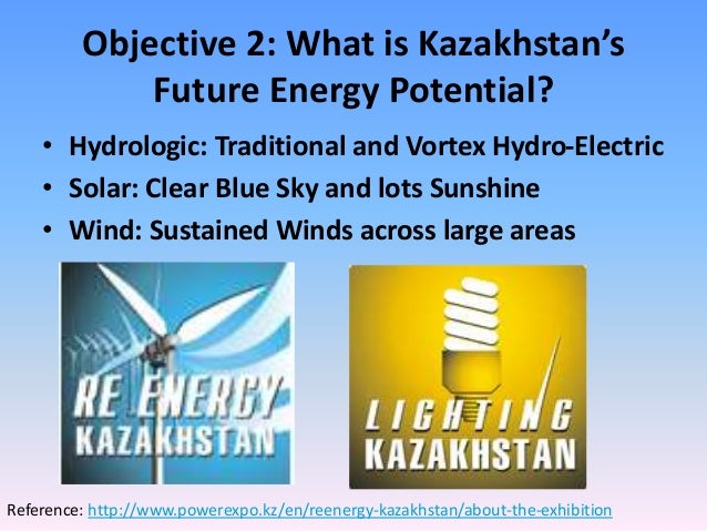 Future Energy Potential Of Kazakhstan