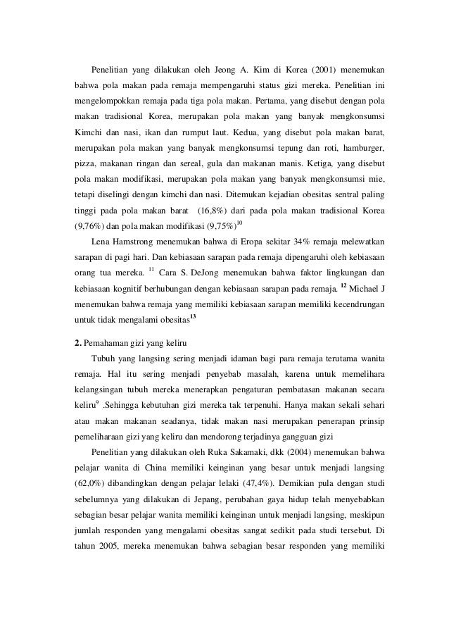 Jurnal Doc : jurnal perilaku makan pada remaja