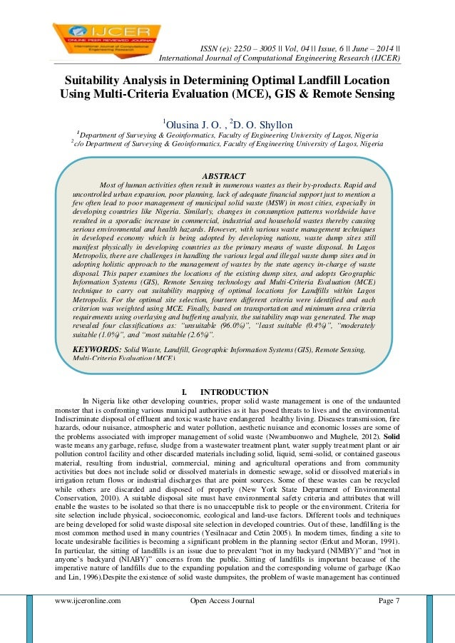 ISSN (e): 2250 – 3005 || Vol, 04 || Issue, 6 || June – 2014 || International Journal of Computational Engineering Research...