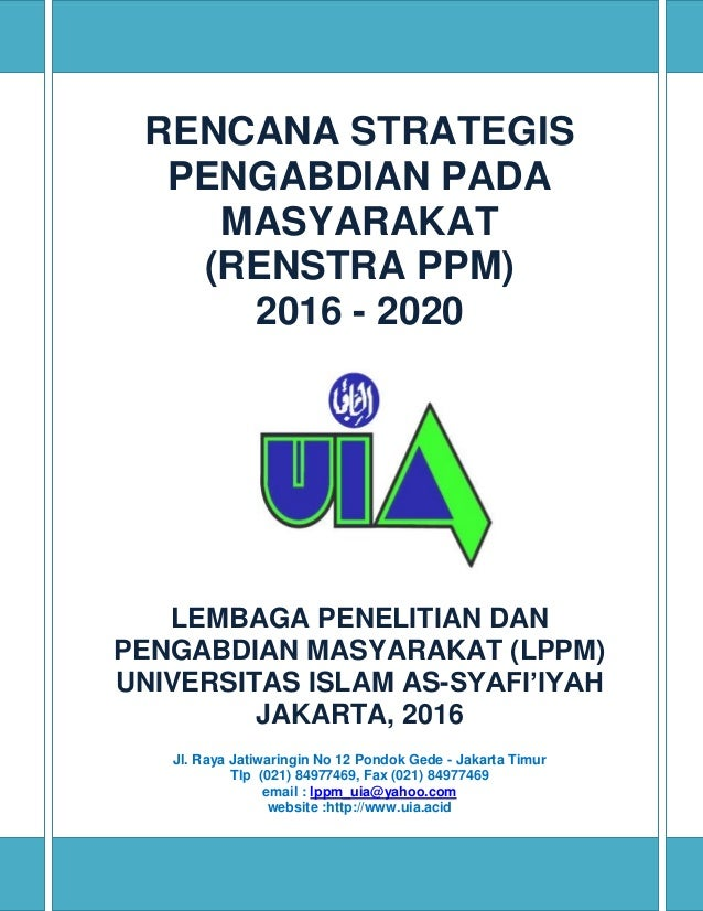 Rencana Strategis - Universitas Teknologi Sumbawa