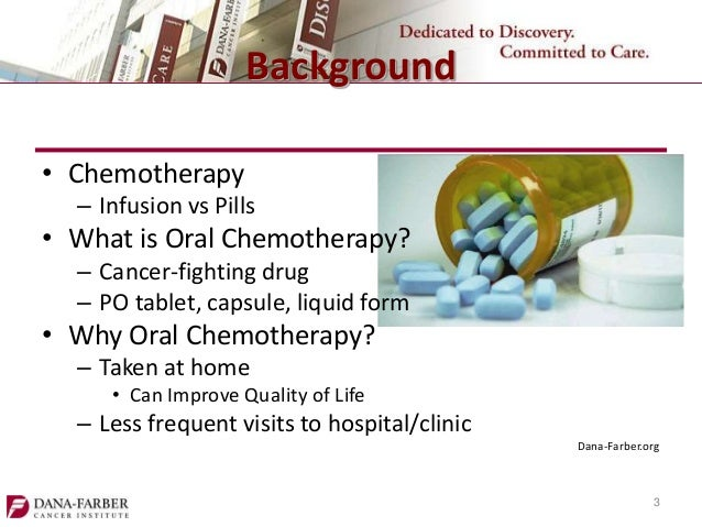 Oral Chemotherapy Adherence