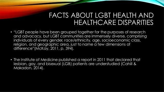 lgbt health disparities