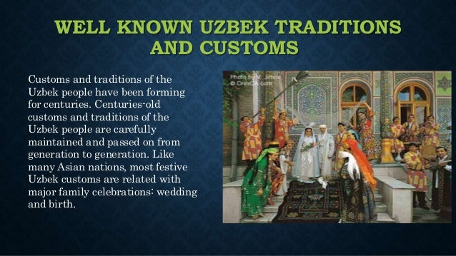 uzbekistan dating customs Gender violence worldwide.