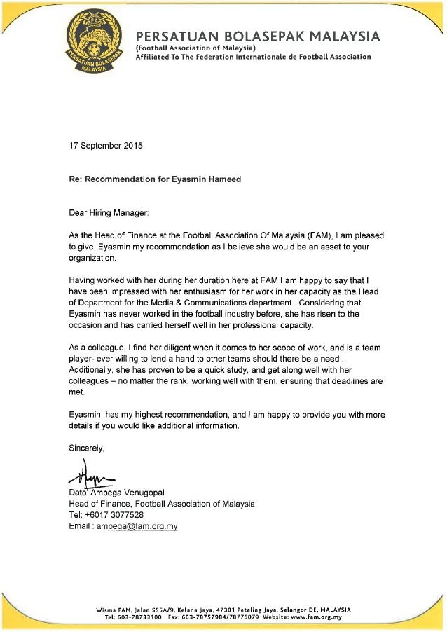 letter from ceo reference letter dato ampega 22849
