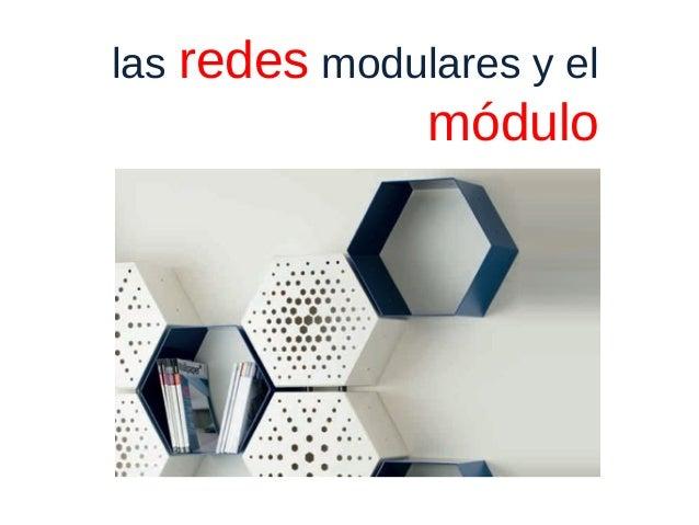 las redes modulares y el módulo