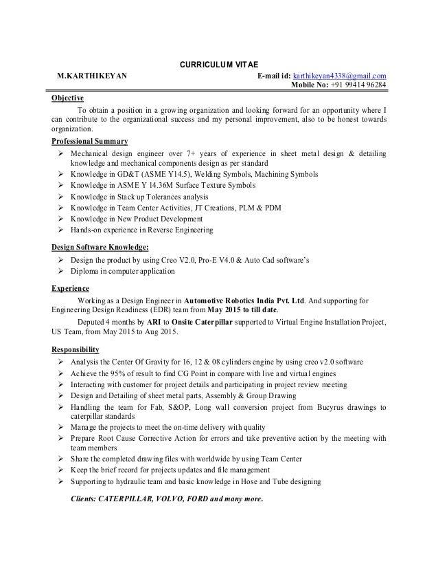 Updated Resume 26072016