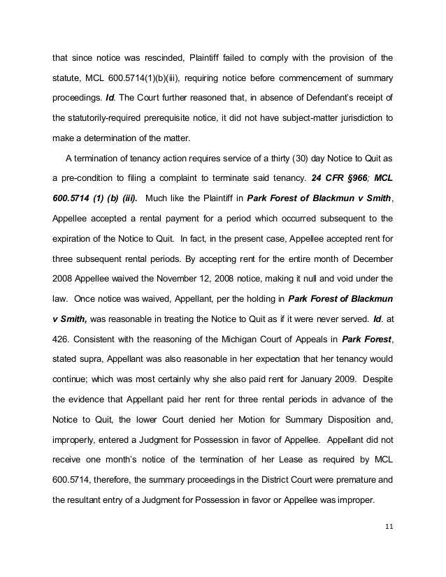 Smiley Writing Sample Appeal Brief (2)
