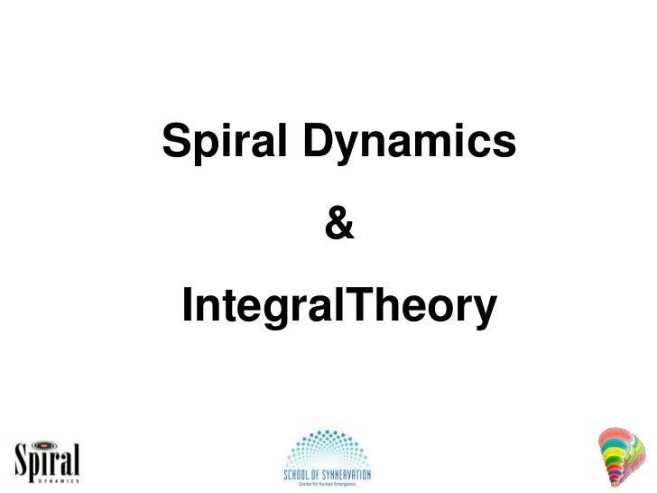 Spiral Dynamics<br />&<br />IntegralTheory<br />