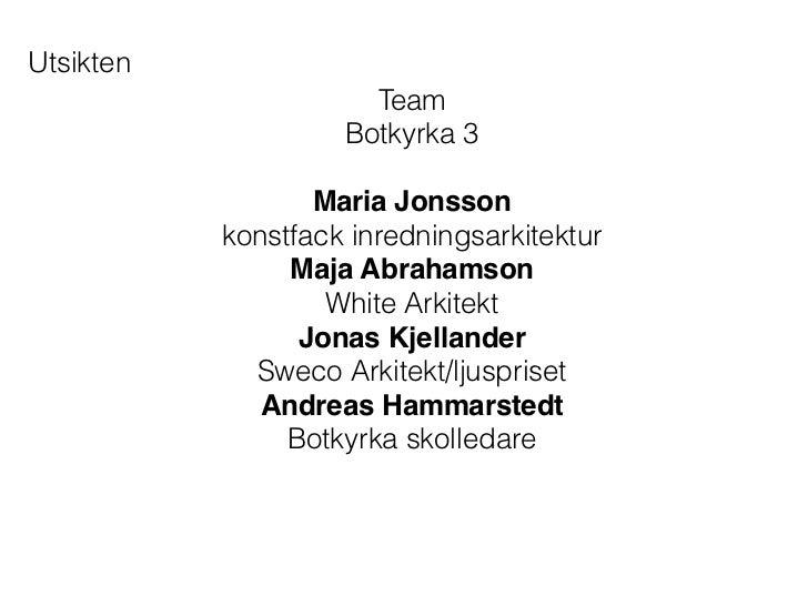 Utsikten                      Team                    Botkyrka 3                                           Maria Jonsson  ...