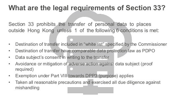 Hong Kong - A Closer Comparison Between GDPR And PDPO