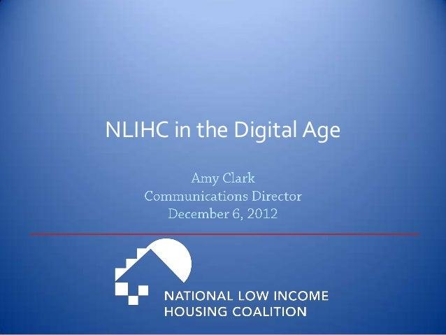 NLIHC in the Digital Age