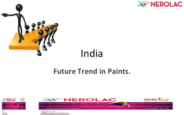 India Future Trend in Paints.