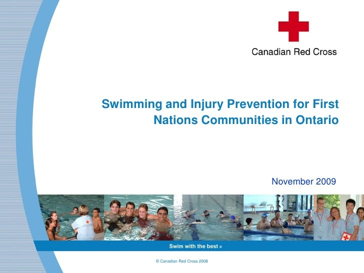 Swimming and Injury Prevention for First        Nations Communities in Ontario                                         Nov...