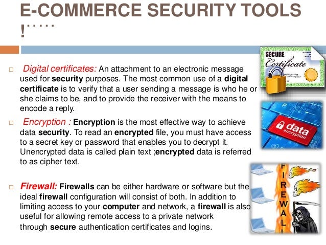 Protection & Security Of E-commerce