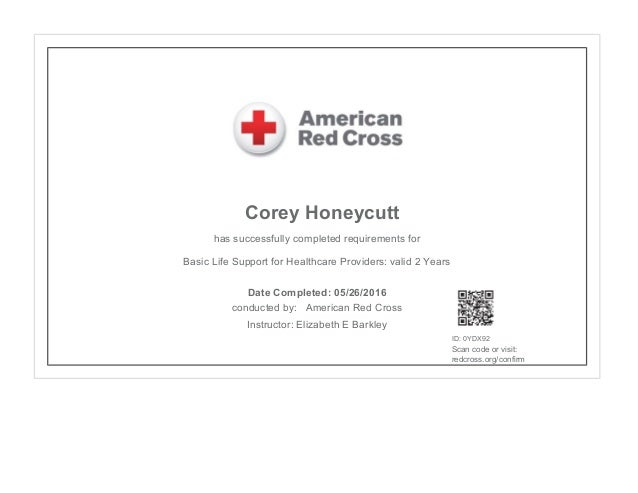 American Red Cross Cpr Certification