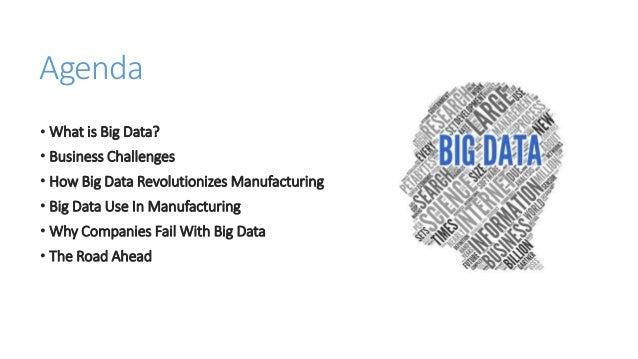 Big Data in Manufacturing Final PPT
