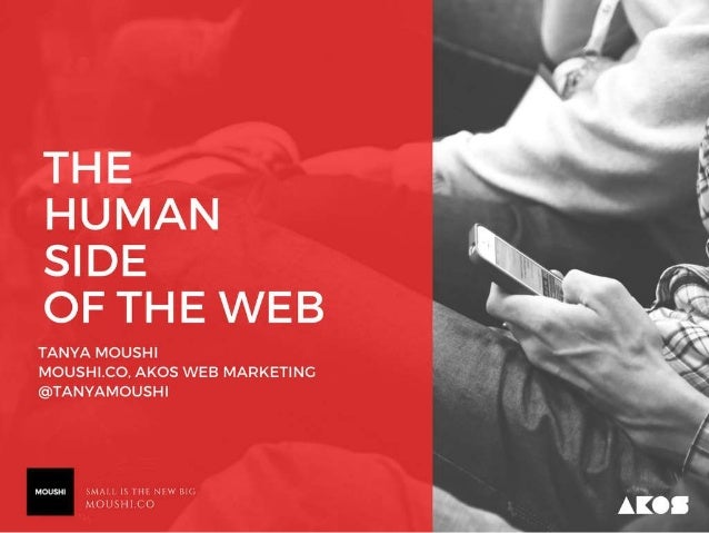The Human Side of the Web PPT