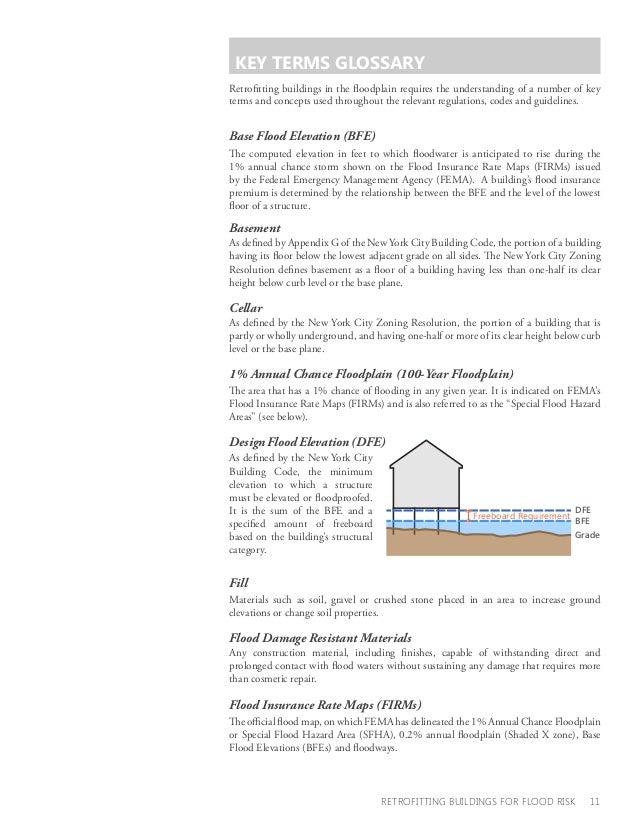 Retrofiting Buildings for Flood Risk