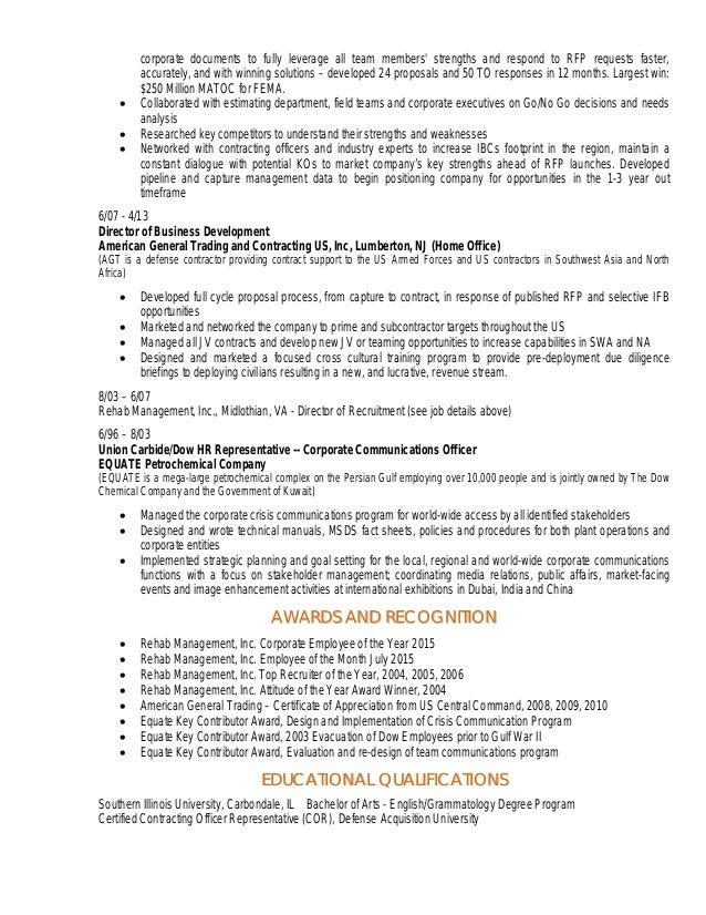 nc whitney resume proposal development and marketing coordinator