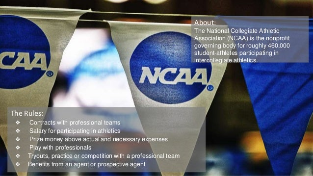 Is it ethical for the ncaa