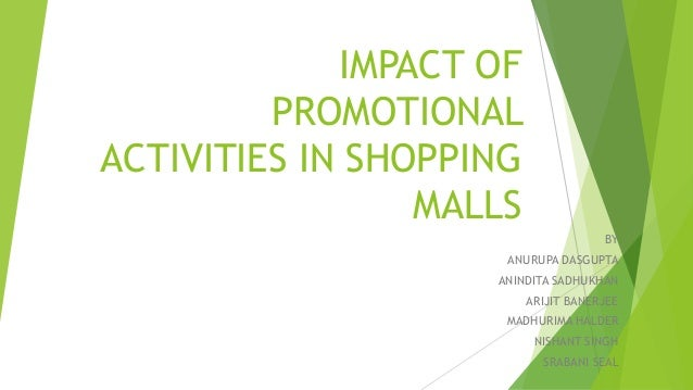 the effect of recession on promotional activities