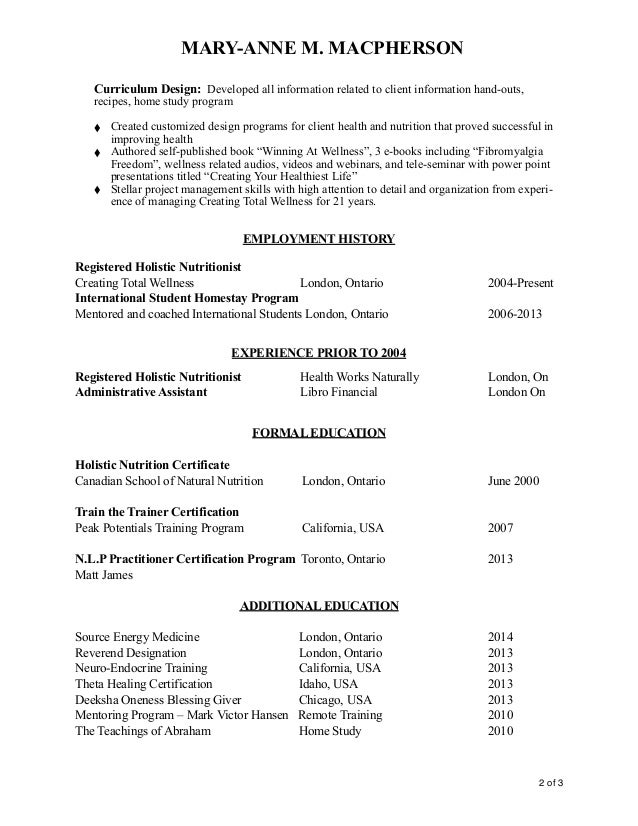 Facilitator Resume Sample Nmdnconference Example Resume And