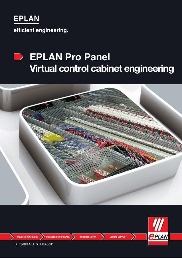EPLAN Pro Panel Virtual control cabinet engineering