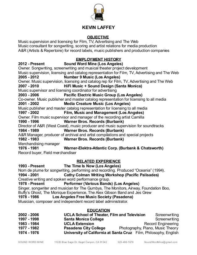 KL CV & Credits 2017