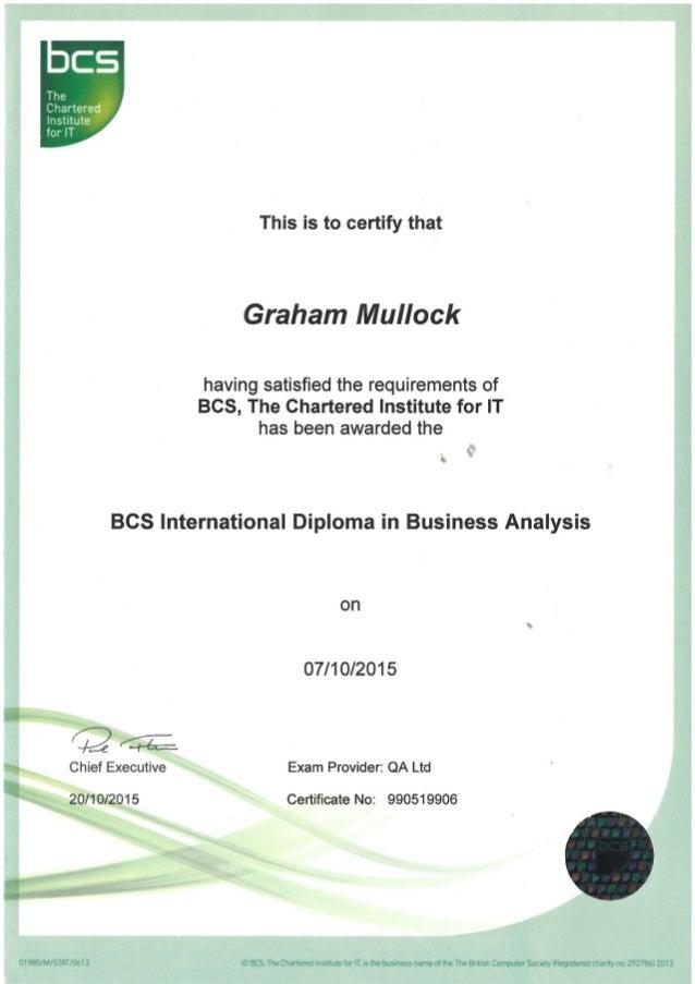 certificate bcs slideshare birimleri upcoming