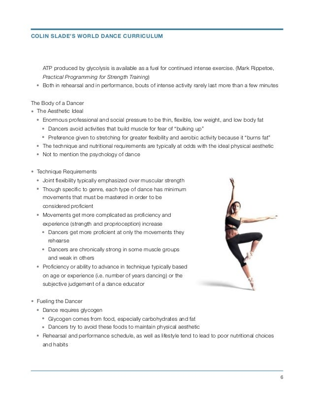 Strength Training for Dancers