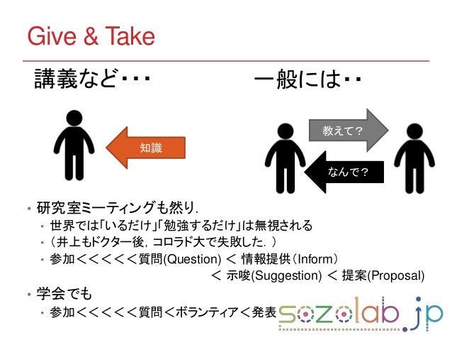 心構え編 〜研究室オリエンテーション〜 Slide 3
