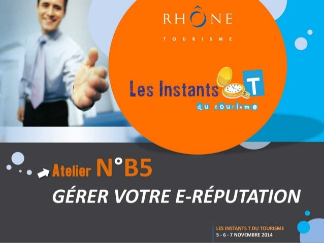 Intervenant  www.rhonetourisme.com  Jocelyn Bouilhol (Espace Numérique Entreprises)