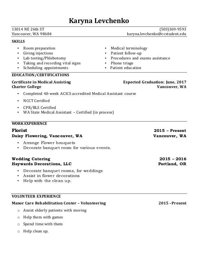 Medical Assistant Resume 20