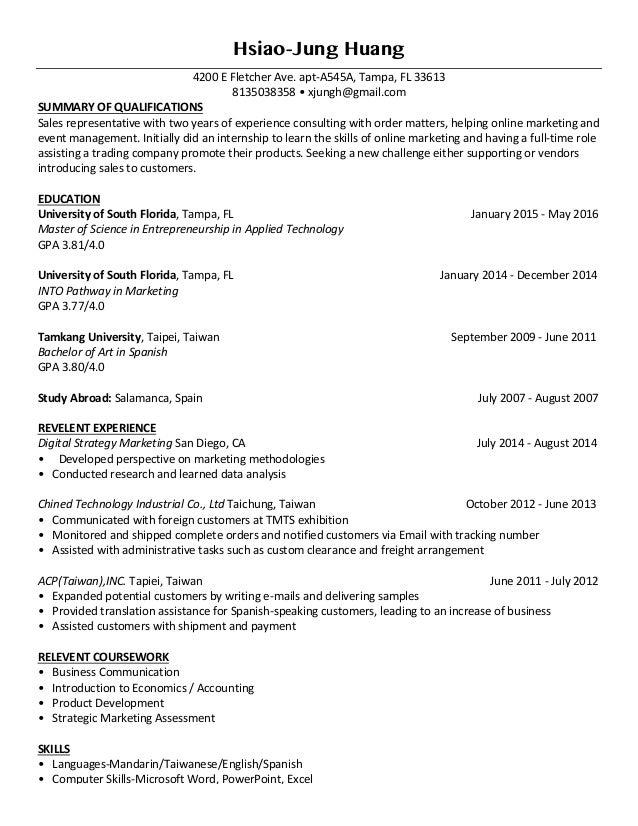 Fine Resume Assistance Tampa Vignette Example Business Resume
