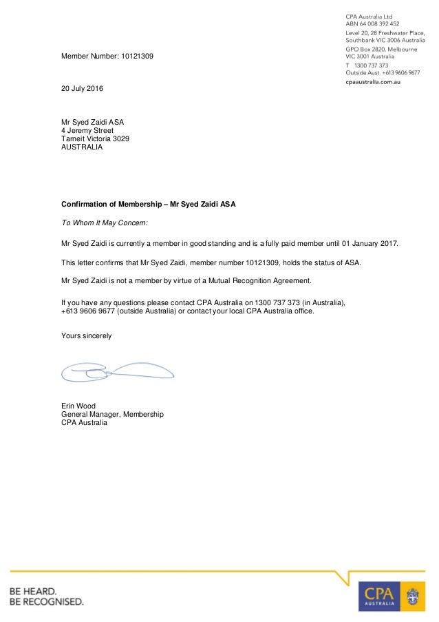 application letter of good standing   100  original
