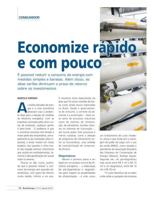 Brasil Energia Agosto Eficiência