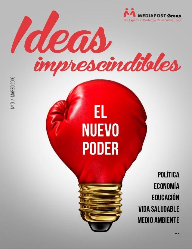nº9/MARZO2016 política ECONOMÍA EDUCACIÓN VIDA SALUDABLE MEDIO AMBIENTE ...