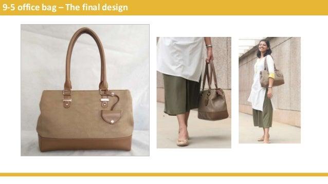 9-5 office bag – The final design