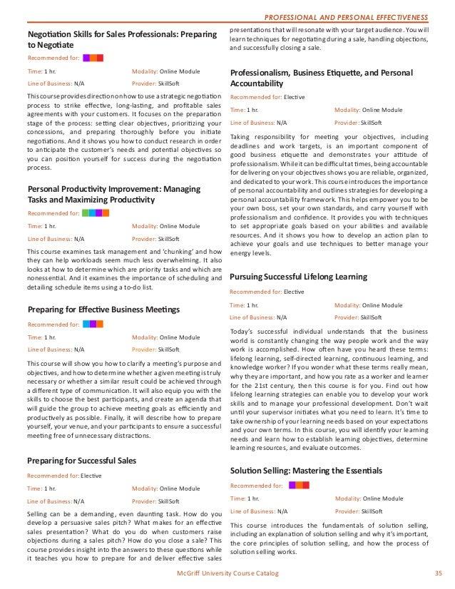 121916 McGriff University Course Catalog