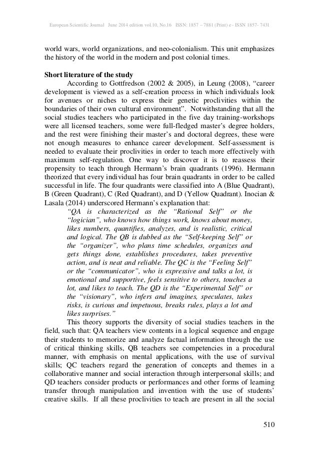 social studies teachers u0026 39  proclivities to teach world history in the n u2026