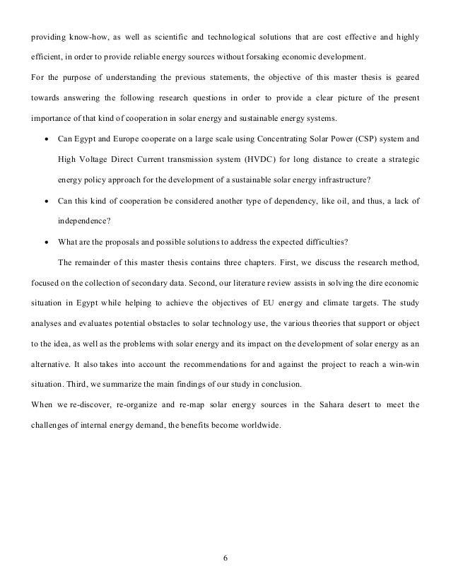 renewable energy thesis statement