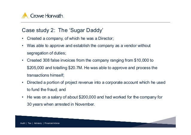 sugar daddy contract False Invoices - Would you detect them