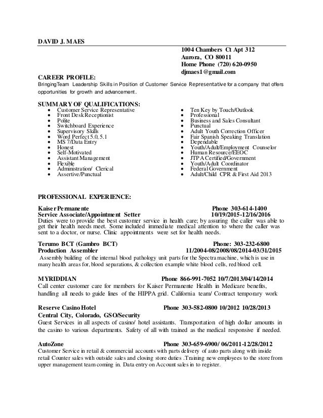 Automotive Part Sales Resume Customer Service Resume Examples