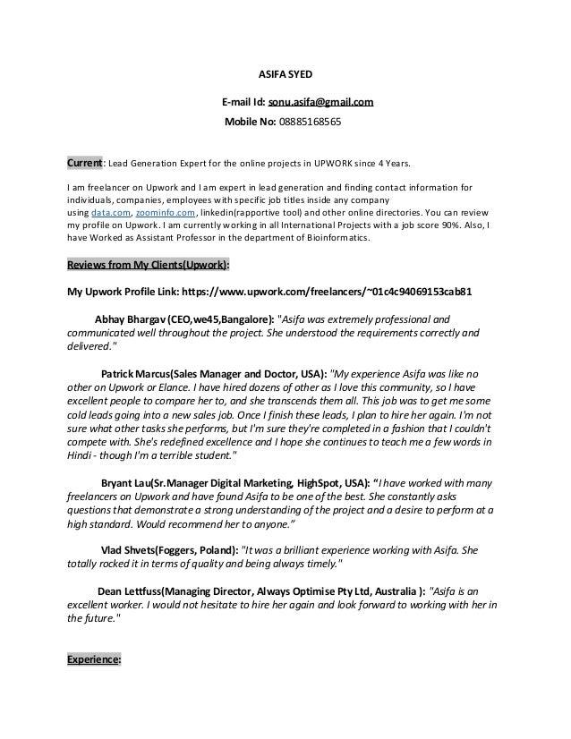 asifa updated resume