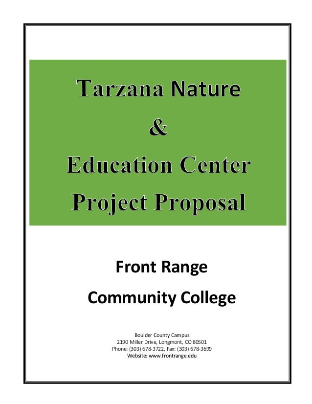GIS 165 Tarzana Nature & Education Center Project Proposal FINAL (1)