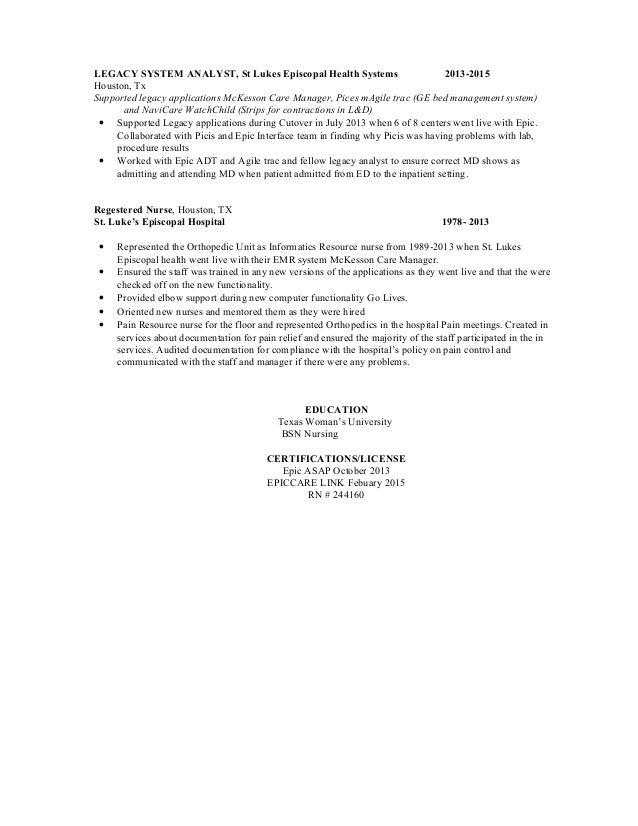 sheila u0026 39 s system analyst resume