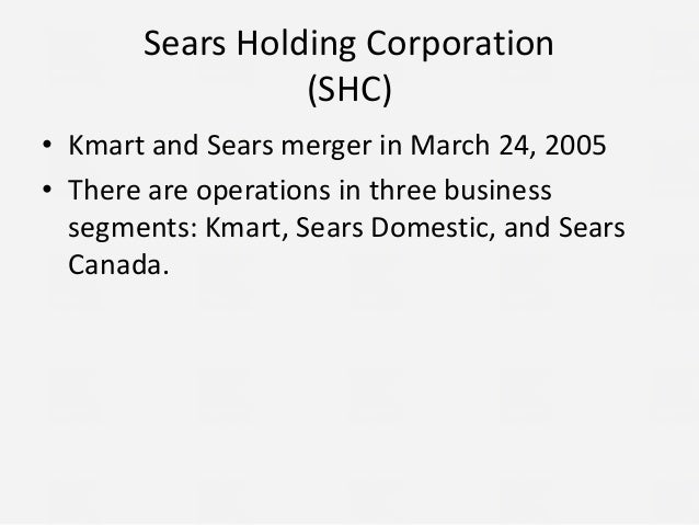 sears core competencies Some core competencies that must be exploited are: brand kmart is an existing well-known and trusted national brand in usa kmart has private label and designer .
