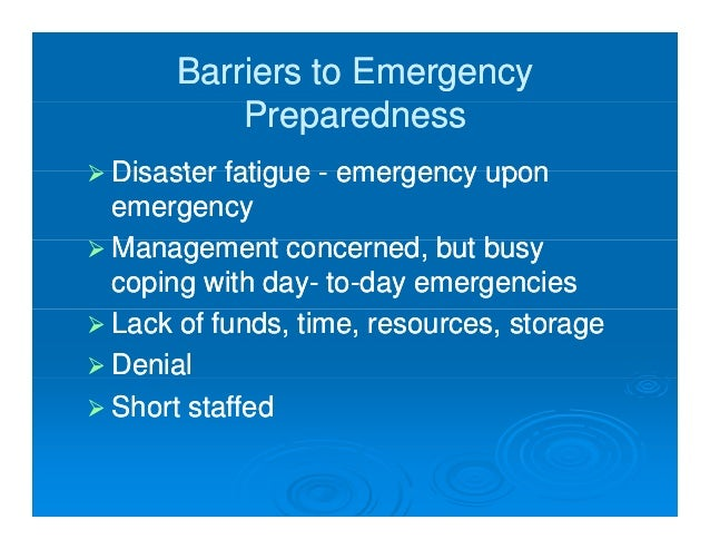 homeless planning for emergencies preparedness response