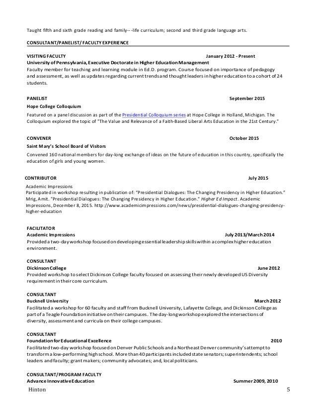Hinton 2015 CV