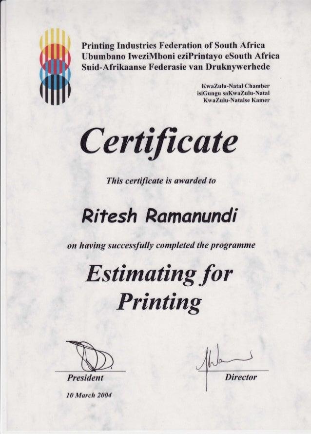 Printing IndustriesFederationof SouthAfrica UbumbanoIweziMboni eziPrintayoeSouthAfrica Suid-AfrikaanseFederasievan Druknyw...
